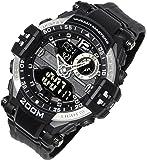 [ラドウェザー] 腕時計 メンズ 水に強い200m防水なのでサーフィンやマリンスポーツで使える アナログ & デジタル…