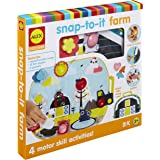 Alex Discover Snap-to-It Farm Kids Toddler Art and Craft Activity