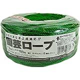 マルソル(MARSOL) 園芸ロープ 2mmφ×100m グリーン