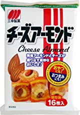 三幸製菓 チーズアーモンド 16枚