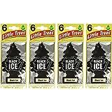 Little Trees B0006O2PBW Little-Trees Black Ice Little Tree Air Freshener- 24 Pack, Single