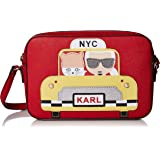Karl Lagerfeld Paris Maybelle Taxi Camera Crossbody