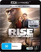 RISE OF THE PLANET OF THE APES 4K (UHD)(2 DISC)