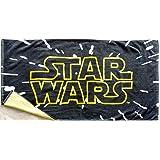 丸眞 バスタオル STAR WARS スターウォーズ 70×140cm スター・ウォーズ タイトルロゴ 綿100% 2545022200