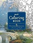 Posh Adult Coloring Book: Thomas Kinkade Painter of Light