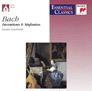 Bach;Inventions and Sinfonias
