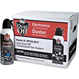 Dust-Off 10 oz Compressed Gas Duster Retail Case Pack (DPSXLRCP) by Dust-Off