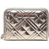 Moschino Love Moschino Women's Quilted Zip Around Wallet Gold