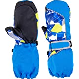 TRIWONDER キッズ スキー グローブ 手袋 防水 防寒 スノー手袋 男の子 女の子 アウトドア 冬用 滑り止め付き 透湿 換気性 耐磨耗性