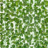 HATOKU 18 Pack Fake Vines for Room Decor Fake Ivy Leaves Garland Greenery Hanging Plants for Bedroom Aesthetic Decor Wedding