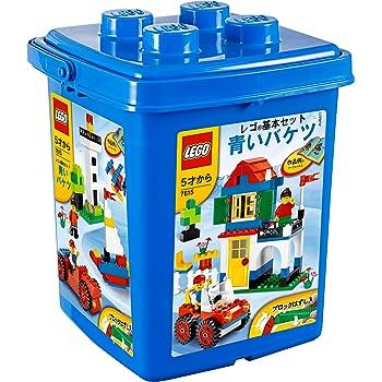 レゴ (LEGO) 基本セット 青いバケツ (ブロックはずし付き) 7615