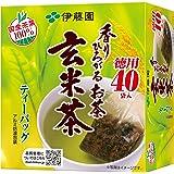 伊藤園 香りひろがるお茶 玄米茶 ティーバッグ 40袋