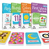 120 Flash Cards For Toddlers 2-4 Years, ABC Alphabet Letters, Colors & Shapes, 1-100 Math Numbers, First Sight Words for Voca