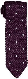 Dot Silk Knit Tie 118-23-2421: Purple