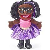 "14"" Superhero, Black Girl, Hand Puppet"