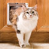 PetSafe Interior 2-Way Locking Cat Door, White