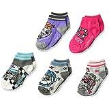 Nickelodeon Little Girl's Paw Patrol 5 Pack Shorty Socks Sockshosiery