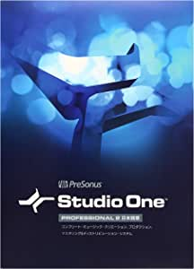 PreSonus プリソーナス 音楽制作ソフト Studio One Professional 2
