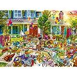 Buffalo Games 11757 - Aimee Stewart Yard Sale - 1000 Piece Jigsaw Puzzle