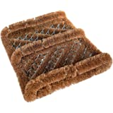 Safety Care Natural Coir Boot Scrubber Door Mat - 12 x 13 inch