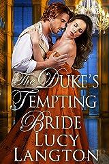 The Duke's Tempting Bride: A Historical Regency Romance Book Kindle Edition