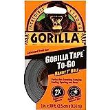 Gorilla Glue 3044401 Gorilla Duct Tape Black 9.14 m, Black