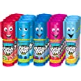 Push Pop Jumbo Candy Assortment Bulk 18 Pack – Blue Raspberry, Watermelon, Strawberry, Cotton Candy and Mystery Flavors, 1.06