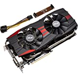 ASUSTek社製 AMD Radeon R9 280X GPU搭載ビデオカード (オーバークロックモデル) R9280X-DC2T-3GD5
