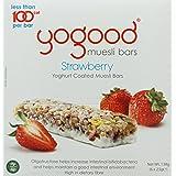 yogood Strawberry Yoghurt Coated Muesli Bars, 138g