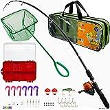 Play22 Fishing Pole For Kids - 40 Set Kids Fishing Rod Combos - Kids Fishing Poles Includes Fishing Tackle, Fishing Gear, Fis