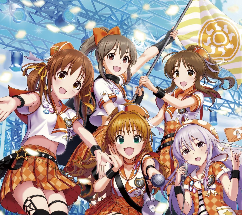 アイドルマスター 十時愛梨、日野茜、高森藍子、星輝子、堀裕子 HD(1440×1280)スマホ 壁紙・待ち受け