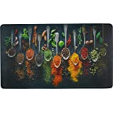 UpNUpCo Artistic And Colorful Anti Fatigue Kitchen Floor Mat Floor Mats For In Front Of Sink Cushioned Kitchen Mat Padded Kit