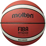 Molten BG3800 Series, Indoor/Outdoor Basketball, FIBA Approved, Size 7, 2- Tone Design, Model: B7G3800