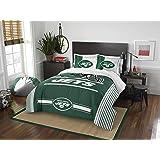 NFL New York Jets Full Comforter and Sham Set