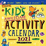 2021 Kids Awesome Activity Wall Calendar