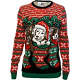 Ugly Christmas Party Sweater Men's Knitted Assorted Animals Sweatshirt
