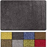 Kaluns Door Mat - Front Door Welcome Rug Indoor Doormat - Super Absorbant Mud Mats - 28x18 Home Entry Floor Mat, Non Slip PVC