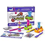 hand2mind-90740 Magnetic Science Kit for Kids 8-12, Kids Science Kit with Fact-Filled Guide, Make Magnets Float and Build a C