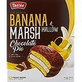 Tastee Banana Marsh Mallow Chocolate Pie, Banana, 300 g