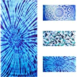 Lyfeguard Sandproof Microfiber Beach Towel, Quick Drying Pool Towels for Women and Men, Compact and Lightweight Towel for Cam