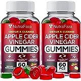 (2 Pack) Apple Cider Vinegar Gummies with Mother for Immunе Support - Vegan - Detox, Cleanse Support - Bloating Relief - Gumm
