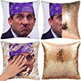 RongDX Sequin Pillow Case Funny Magic Reversible Mermaid Pillow Cases Throw Pillow Covers Cushion Cover Decorative Pillowcase