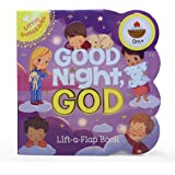 Good Night, God - Lift-a-Flap Board Book Gift for Easter Basket Stuffer, Christmas, Baptism, Birthdays Ages 1-5