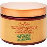 SheaMoisture Manuka Honey & Marfura Oil Hydration Intensive Masque Hair Treatment, 12 Fl Oz
