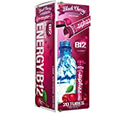 Zipfizz Healthy Energy Drink Mix, Hydration with B12 and Multi Vitamins (ASINPPOSPRME1830), Black Cherry 20 Count