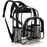 AmazonBasics Stadium Approved Mini Backpack, Clear