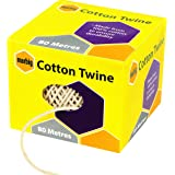 MARBIG 845601A Twine Cotton 80M Natural