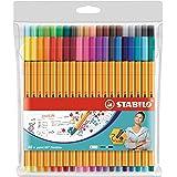 STABILO Point 88 fineliner - Wallet of 40 Colours - 8840-1