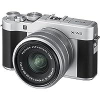 Fujifilm X-A5 Mirrorless Digital Camera, sliver