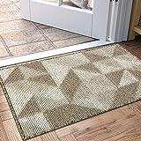 """Indoor Doormat, Non Slip Absorbent Resist Dirt Entrance Rug, 32""""x48"""" Large Size Machine Washable Low-Profile Inside Floor Doo"""
